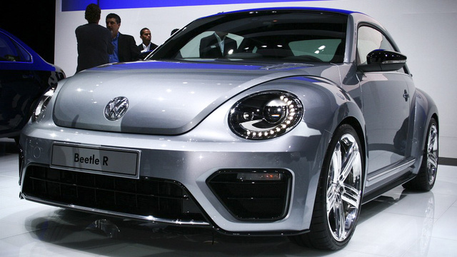 Volkswagen Beetle R Concept: I'm so super serious right now