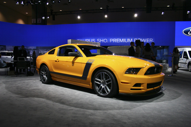 2013 Boss 302 Mustang: Live Photos