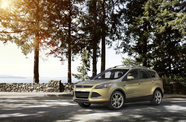 2013 Ford Escape: First Photos