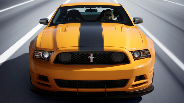 The 2013 Boss 302 Mustang is the same but different
