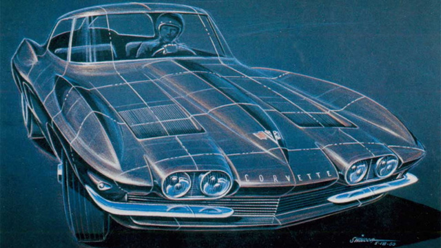 How Corvette design has evolved over 60 years