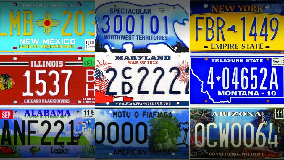 automobile license plate collectors association