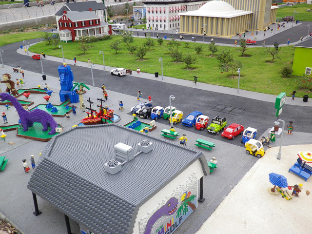 There's a Lego Bugatti Veyron hidden at Legoland