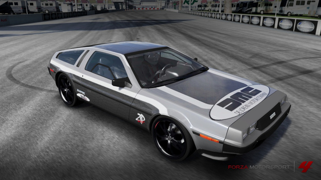 The winner of our DeLorean Forza 4 wrap contest is…