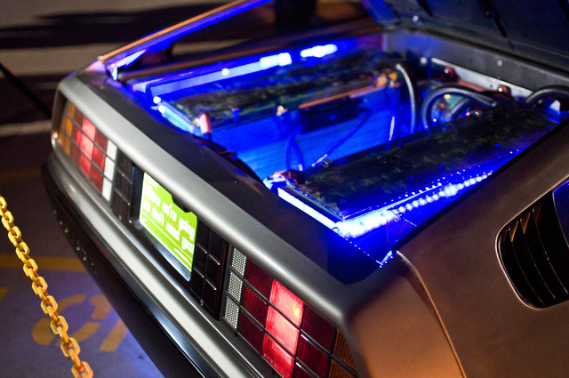 Electric DeLorean DMCEV: Prototype Shots