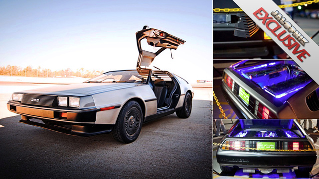 Electric DeLorean: First Drive