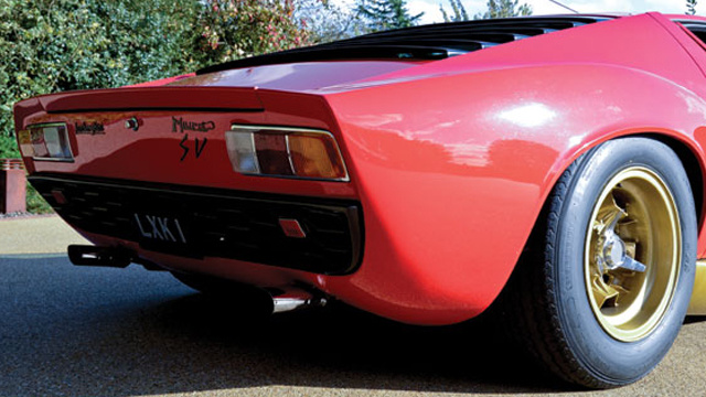 Gorgeous 1972 Lamborghini Miura SV going to auction in London