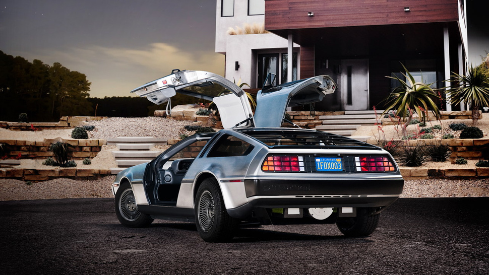 This is a brand-new, all-electric DeLorean