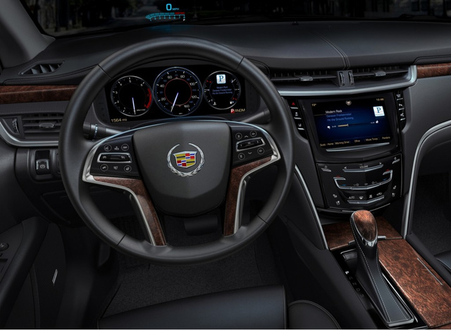 CUE: The Cadillac XTS' new Apple-like infotainment system