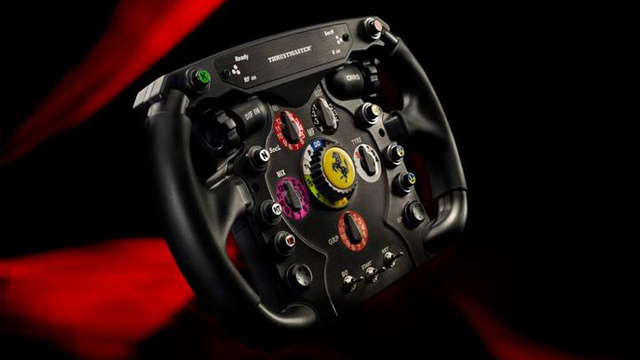 Thrustmaster's Ferrari F1 wheel makes us drool