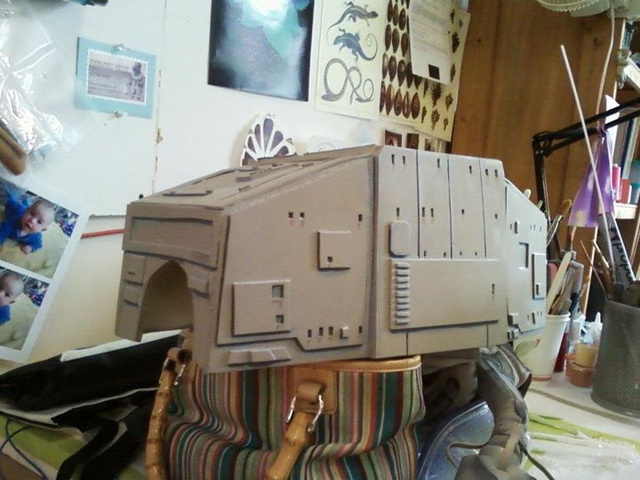 Meet Bones Mello, the AT-AT Dog