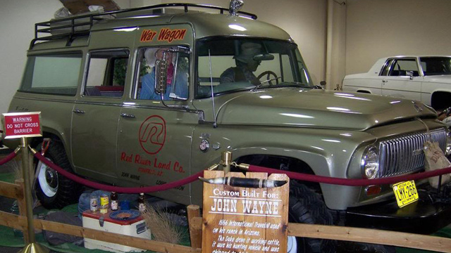 Your chance to own John Wayne's custom 1966 International Travelall