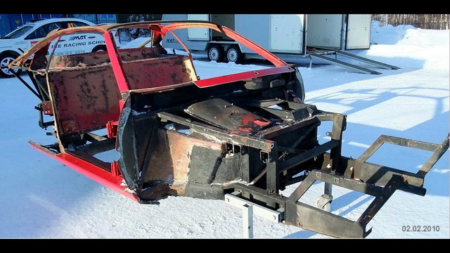 How to build a vintage rally car out of a Ferrari in eleventy easy steps