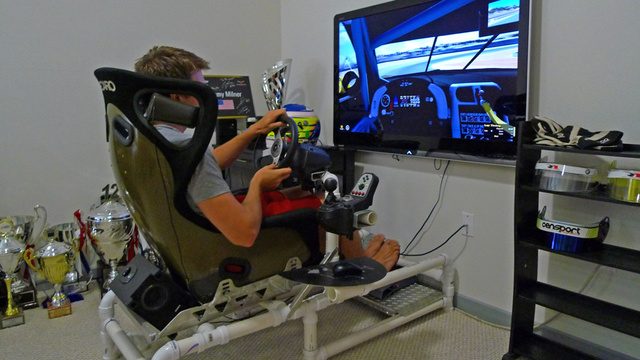 how a racing sim rig helped a driver win at lemans. Black Bedroom Furniture Sets. Home Design Ideas