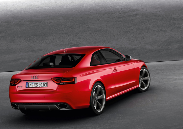2012 Audi RS5: Aluminum und more awesome