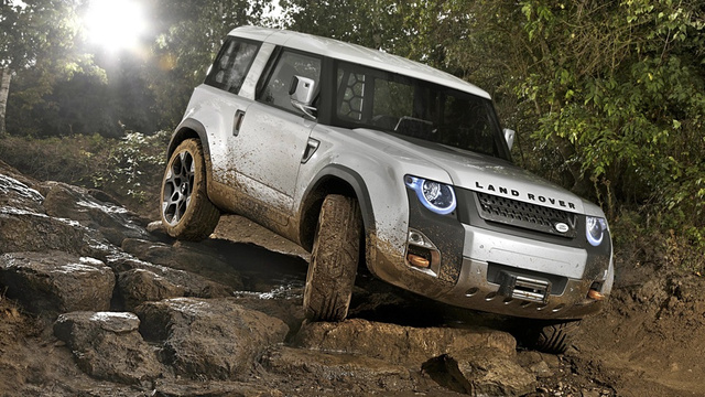 Land Rover's DC100 Concept looks like a Defender made love to an Evoque