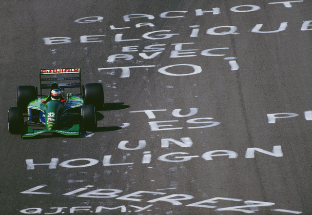 Michael Schumacher celebrates 20 years in Formula One