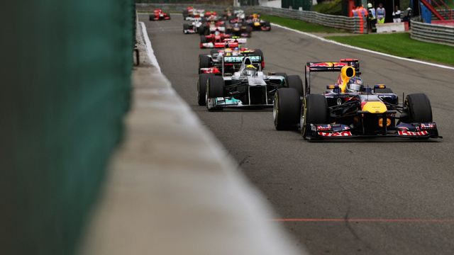 Pictures from the 2011 Belgian Grand Prix
