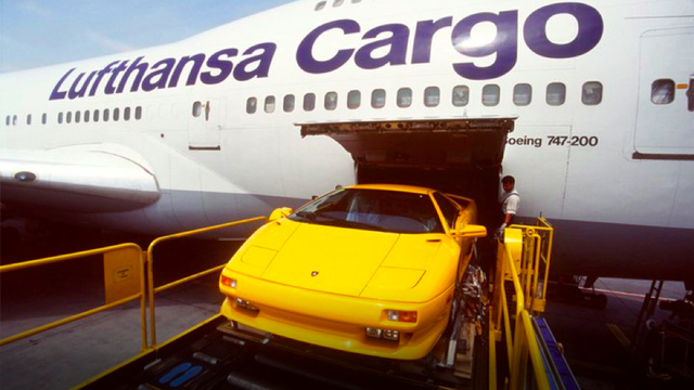 How Lufthansa gets the world's most exotic cars airborne