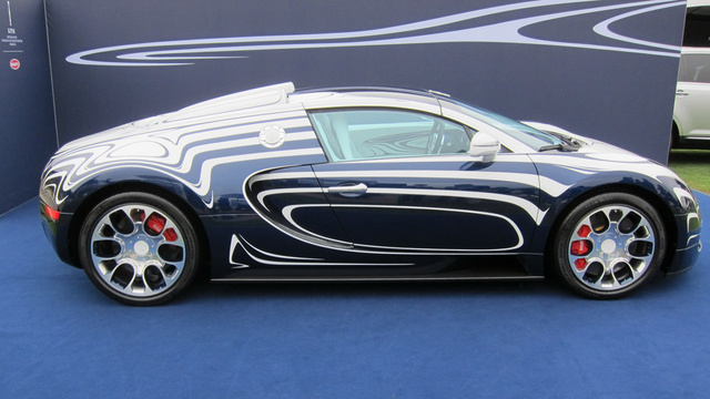 Bugatti Veyron Grand Sports L'Or Blanc