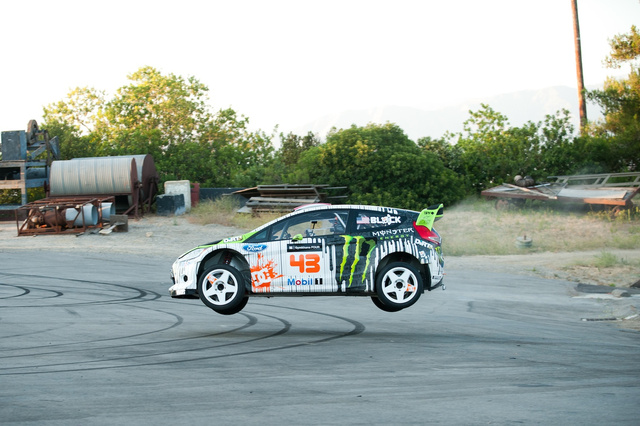 Gymkhana 4 Ken Block drifting photo gallery