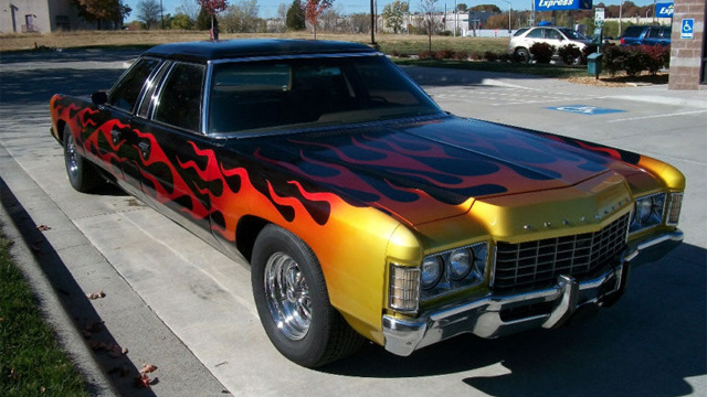 1971 Chevrolet Kingswood is a one of a kind two way car