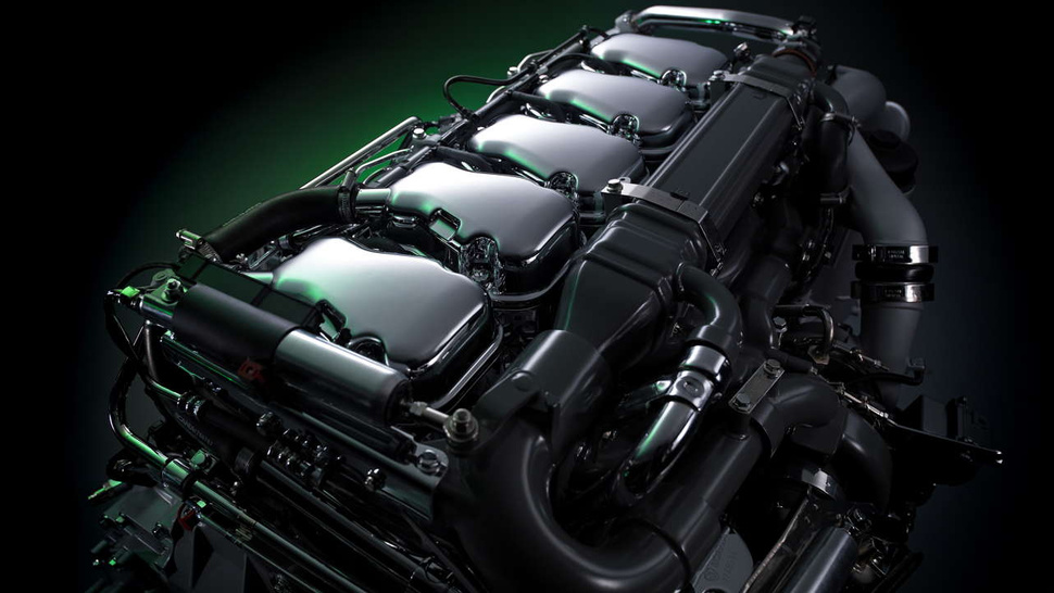 A Scania engine that's so trucking hot