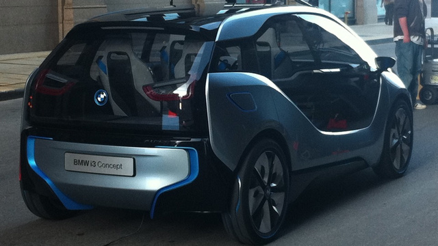 BMW i3 Concept: First Photos