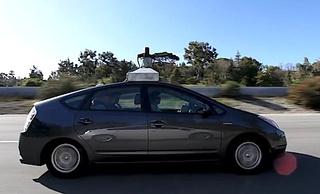 This is Google's first self-driving car crash