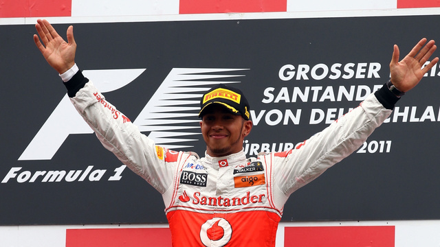 Pictures from the 2011 German Grand Prix