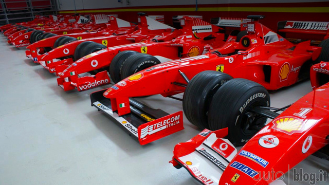 Inside Ferrari's private stable for the super wealthy