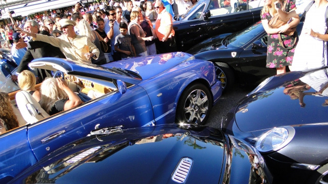 Monaco driver causes million-dollar fender bender