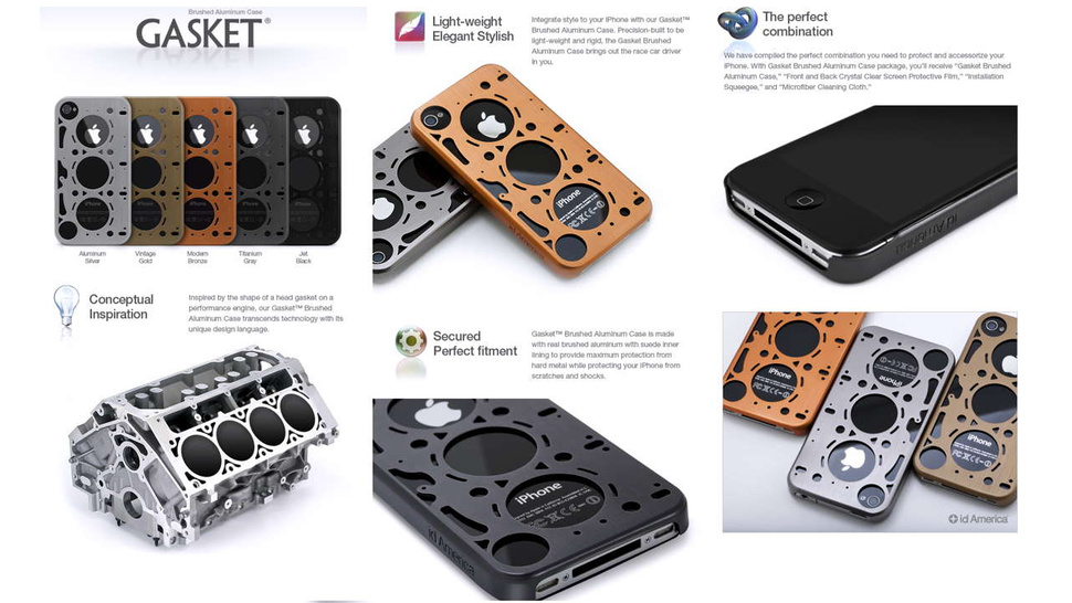 Don't be a basket case, dress your iPhone in a gasket case