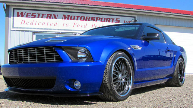 Your chance to purchase a Ford Mustang with the V12 heart of an Aston Martin