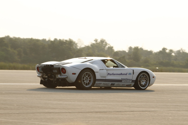 Johnny Bohmer Ford GT Standing Mile Record