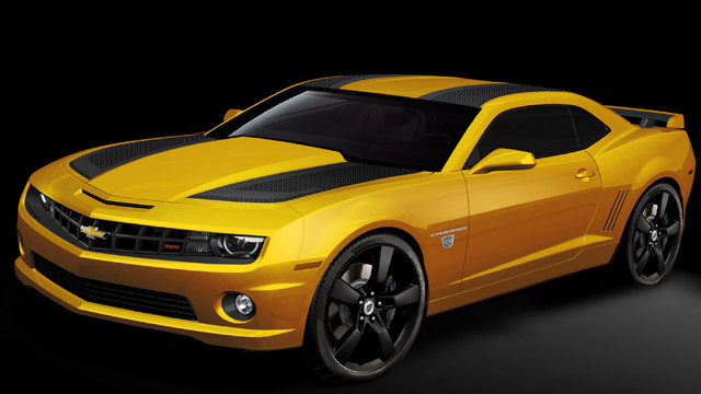 New Transformers Special Edition Camaro is not more than meets the eye