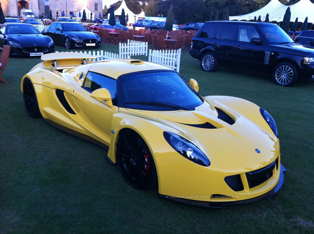 Hennessey Venom GT Bugatti-Killer: First photos