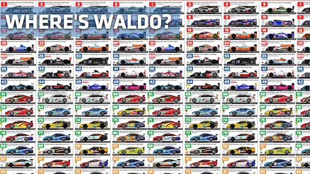 The 2011 24 Hours of Le Mans Spotter Guide