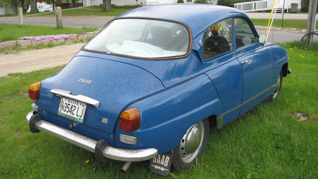 Found off the cape: 1971 Saab 96