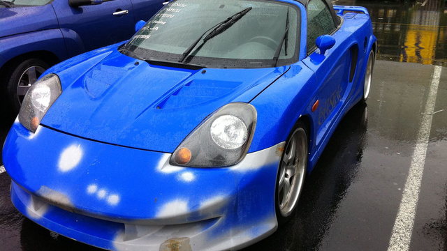 The world's worst customized Toyota MR2