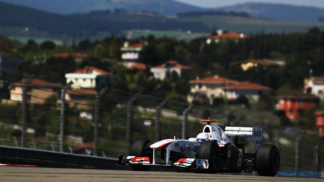 Pictures from the 2011 Turkish Grand Prix