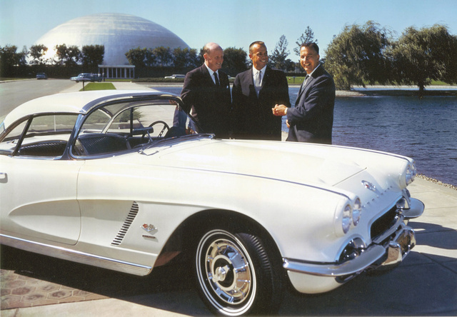 Why America's first astronauts all drove Corvettes