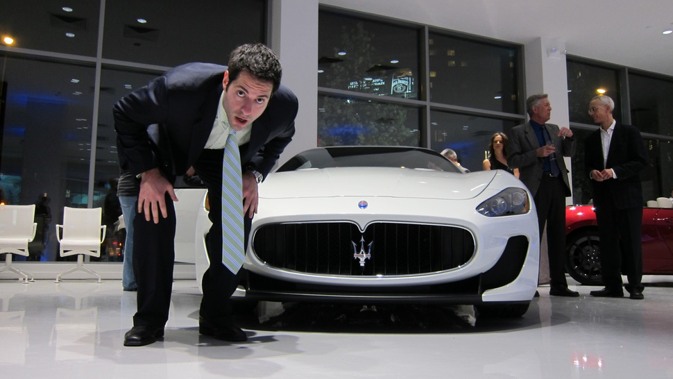 The Maserati GranTurismo MC is a four-person powerhouse of power with power on top