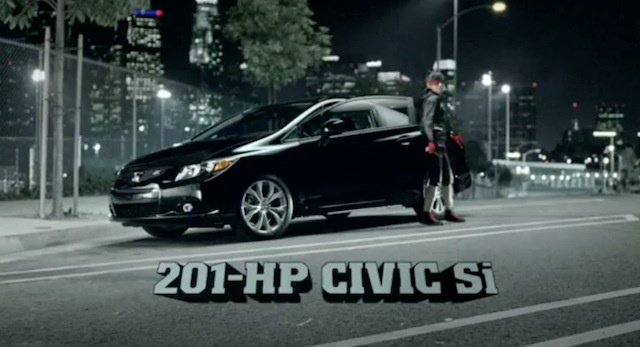 The 2012 Honda Civic is a 201 hp hoodie ninja