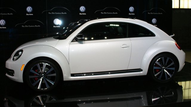 "How the 2012 Beetle will handle ""like Herbie"""