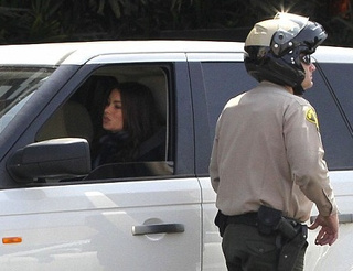 Who gives Sofia Vergara a ticket?