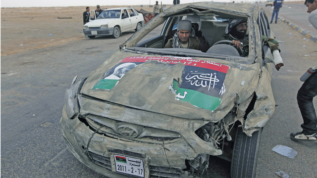 New Hyundai Accent built Libyan rebellion tough