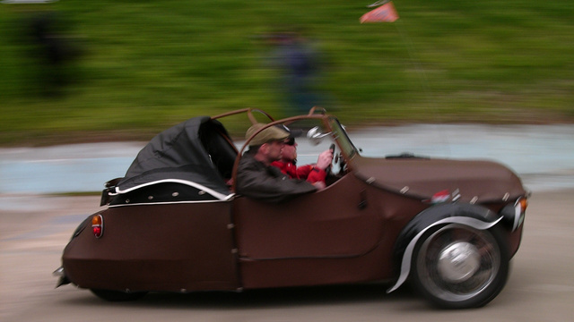 Vintage cars descend upon 115-year-old Velodrome