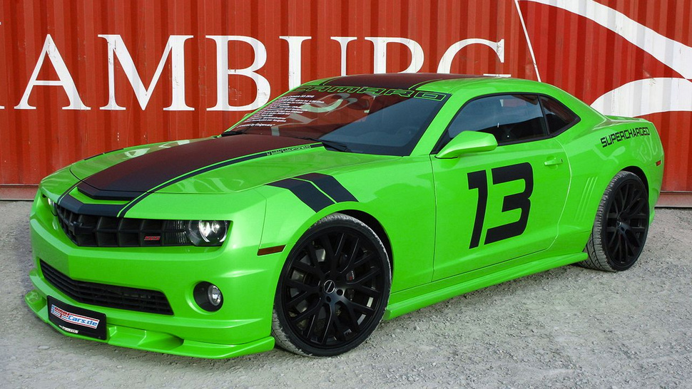German tuner Hulk-smashes Camaro SS