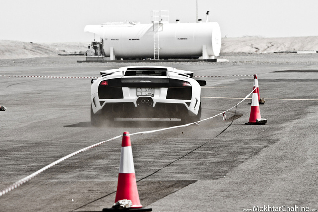 Lamborghinis and Planes in Saudi Arabia